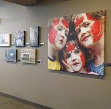 Photography show prints