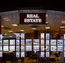 Illuminated Framed Real Estate Displays