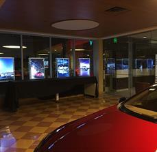 Illuminated Framed Dealership Displays