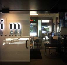 Illuminated Framed Office Displays