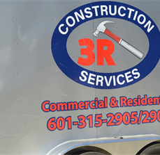 3R Construction RTA Vehicle Graphics