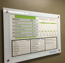 Eastside Medical Center Bacteria-Resistant Glassboard