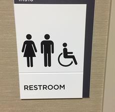 ADA Handicap Restroom Signs