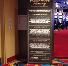 Casino Banner Stands