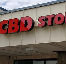 CBD Store Channel Letters