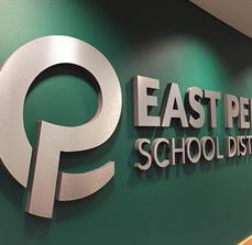 East Penn School District Dimensional Lettering