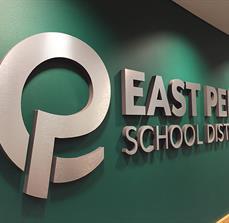 East Penn School District Dimensional Lettering