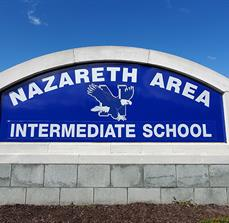 Nazareth Area Intermediate School Monument Sign