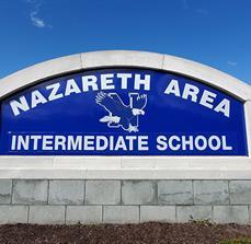 Nazareth Area Intermediate School Monument Sign