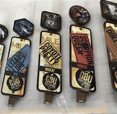 GBU Brewing Co. Custom Tap Handles
