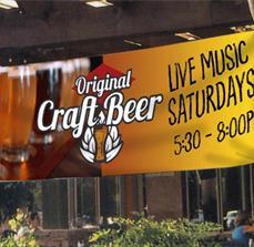 Brewery Custom Banner