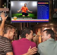 Sports Bar Digital Displays