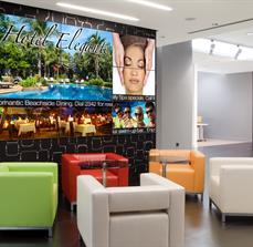Hotel Lobby Digital Displays