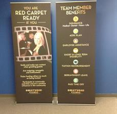 Recruiting Banner Stands