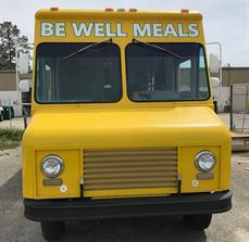 Be Well Meals Custom Food Truck Graphics