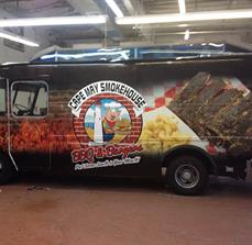 Cape May Smokehouse Food Truck Wraps And Graphics