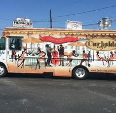 Curbside Cafe Custom Food Truck Graphics
