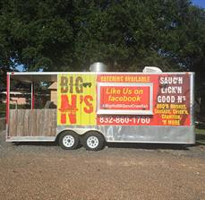 BIG N's Custom Food Trailer Graphics