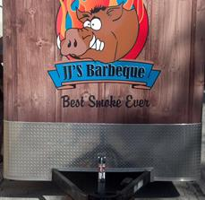 JJ's BBQ Custom Food Trailer Graphics