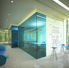 Exterior Meeting Room Glassboard