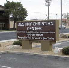 Church Monument Sign