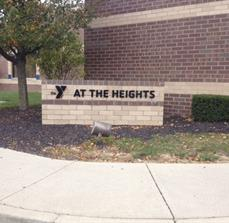 YMCA Monument Signage