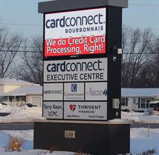 NDC Payment Solutions Digital Monument Sign