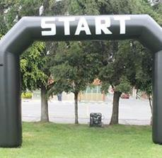 Starting Line Inflatable Arch