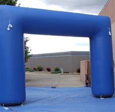 90 Degree Inflatable Arch