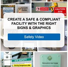 Create A Safe & Compliant Facility With The Right Signs & Graphics