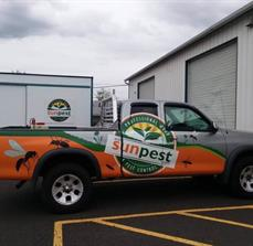 Sunpest Vehicle Wrap
