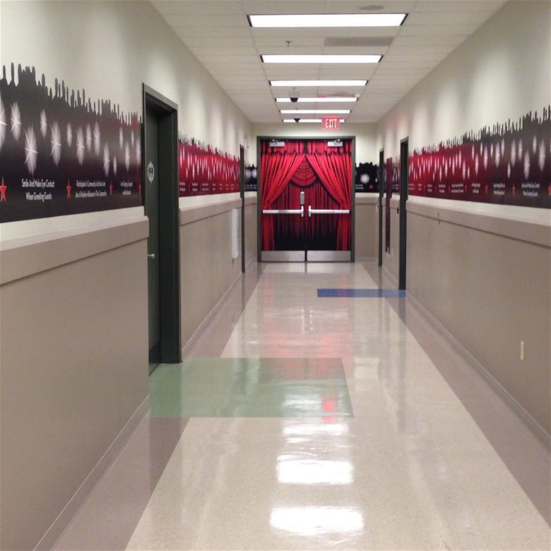 Theater Hallway Wall Graphics