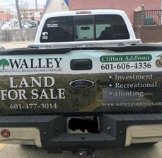 Walley Properties Vehicle Graphics
