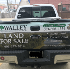Walley Properties Vehicle Graphics