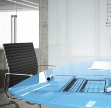 Conference Room Table Glassboard