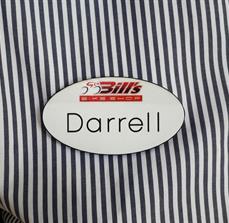 Custom Printed Name Tags