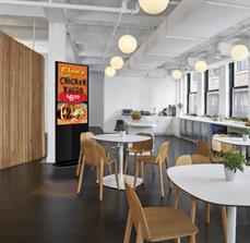 Cafeteria Digital Kiosk