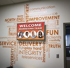 Digital Displays and Vinyl Lettering