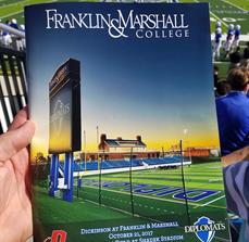 Franklin & Marshall Game Day Booklet