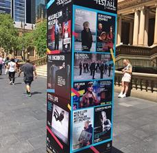 Sydney Festival Monument Sign