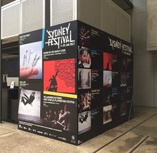 Sydney Festival Wall Graphics