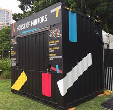 Sydney Festival Building Signs and Graphics