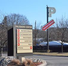 Palisades Center Directional Signs