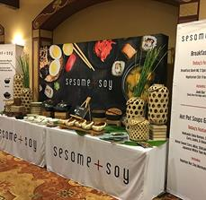 Sesame Soy Custom Banners and Trade Show Displays