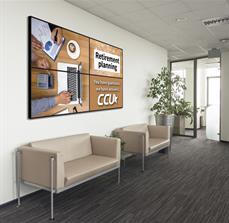 CCU Lobby Wall Graphics