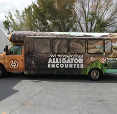 Miccosukee Indian Village Vehicle Graphics