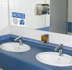 Employees Must Wash Hands Bathroom Sign