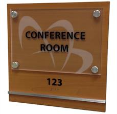 Conference Room Standoff Sign