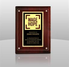 Pancreatic Cancer Action Network Award Plaque
