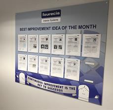 Faurecia Idea Of The Month Board